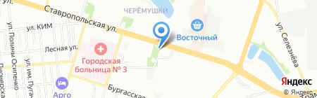 Лиза на карте Краснодара