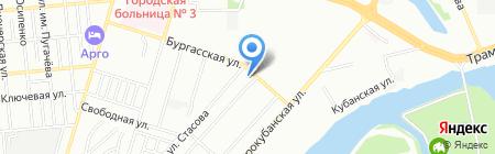 Мак Ки на карте Краснодара