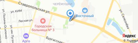 Ёж и Ко на карте Краснодара