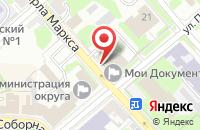 Схема проезда до компании Московское областное БТИ в Егорьевске