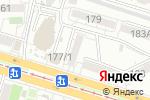 Схема проезда до компании Страза-Вип в Краснодаре