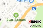 Схема проезда до компании Магазин в Агое