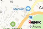 Схема проезда до компании Subway в Агое