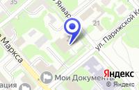Схема проезда до компании ЕГОРЬЕВСКСПЕЦСТРОЙ в Егорьевске