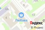 Схема проезда до компании Зоомагазин в Егорьевске
