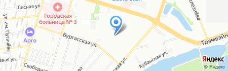 Эксклюзив на карте Краснодара
