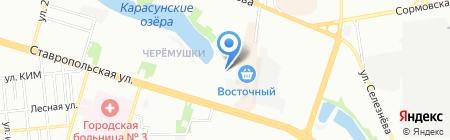 ЛаЛи на карте Краснодара