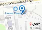 Атера на карте