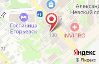 Схема проезда до компании МТС в Егорьевске