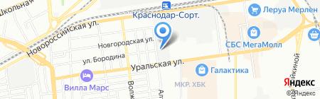 Потенциал на карте Краснодара