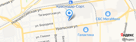 Веол-Оптик на карте Краснодара