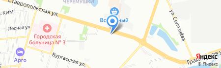 Фрау Эмма на карте Краснодара