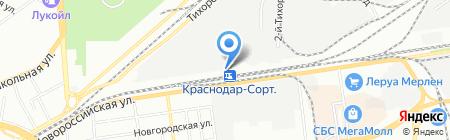 Авт Кубань на карте Краснодара