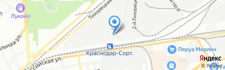Элси-строй на карте Краснодара