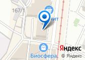 Перов и Пуховка на карте