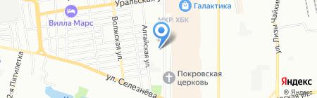 ТЕМП-ВТИ на карте Краснодара