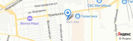 Тимоха на карте Краснодара