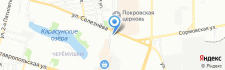 Аптека на ул. Селезнёва на карте Краснодара