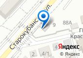 Управление ГИБДД ГУ МВД по Краснодарскому краю на карте