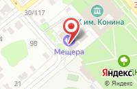 Схема проезда до компании Футбольный Клуб  в Егорьевске