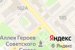 Схема проезда до компании На Кузнецкой в Егорьевске