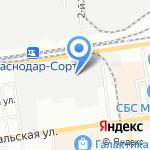 ЮгМеталлСбыт на карте Краснодара