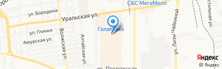 Felice на карте Краснодара