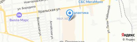 Презент на карте Краснодара