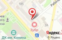 Схема проезда до компании Вега Плюс в Егорьевске