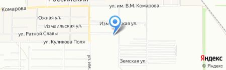 Прованс на карте Краснодара