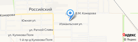 Добрый на карте Краснодара