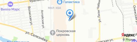 Эверест на карте Краснодара