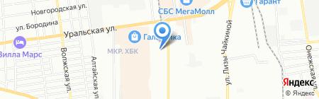 Юнитполимер на карте Краснодара