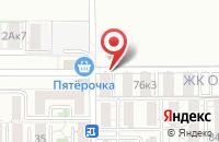 Схема проезда до компании Оазис в Краснодаре