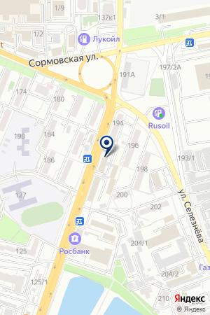АСУ АЛВИСЭНЕРГОМОНТАЖ на карте Краснодара