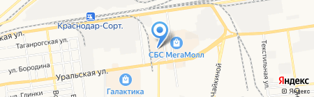 Банкомат Банк ВТБ24 на карте Краснодара