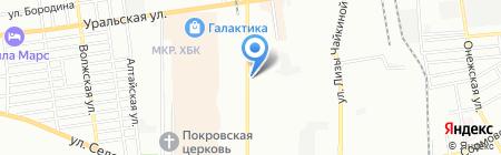 SsangYong на карте Краснодара