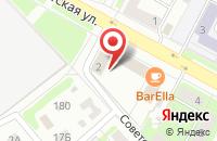 Схема проезда до компании SANOLUX в Егорьевске
