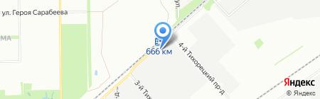 КПД-ИНВЕСТ на карте Краснодара