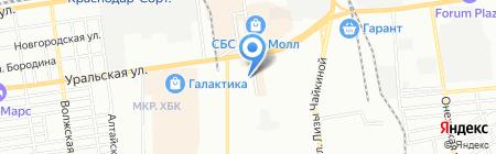 Ника на карте Краснодара