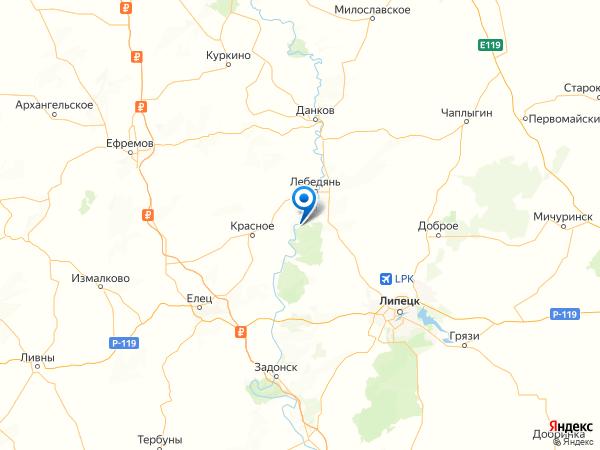 деревня Ключи на карте