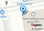 Троллейбусное депо №2, МУП на карте