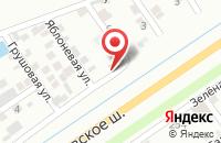 Схема проезда до компании ПромСити в Краснодаре