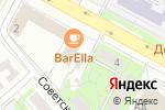 Схема проезда до компании STRAWBERRY в Егорьевске