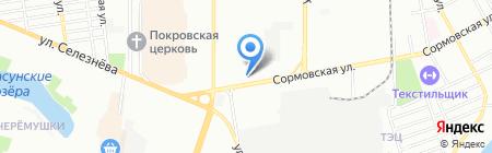 Геодезическая компания на карте Краснодара