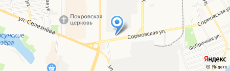 Агропромэнерго на карте Краснодара