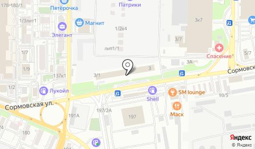 Кубань Гигиена. Схема проезда в Краснодаре