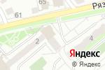 Схема проезда до компании Почтовое отделение №140300 в Егорьевске