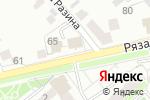 Схема проезда до компании Мясной дворик в Егорьевске