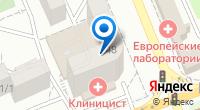 Компания Клиницист на карте